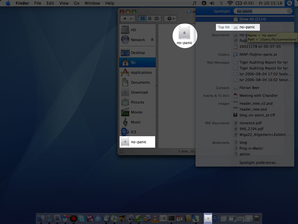 Easily access SSH connections on your Mac – blog no-panic at