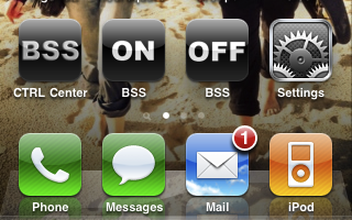 BSS home screen icons