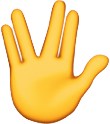 Live long and prosper emoji